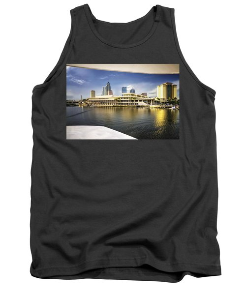 Cruising To Tampa In Hdr Tank Top by Michael White