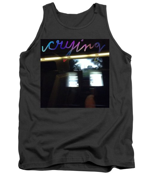 Crying Tank Top