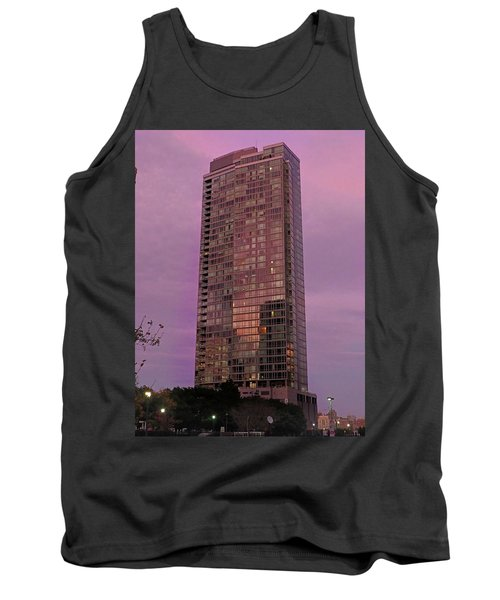 Crystal Skyscraper Sunset Tank Top