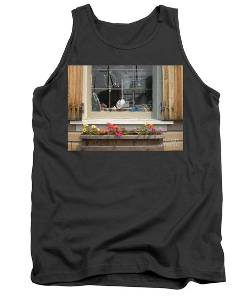Tank Top featuring the photograph Crystal Window by Kim Prowse