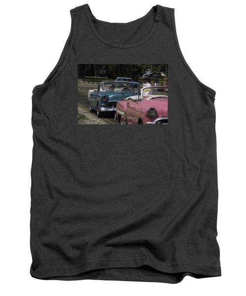 Cuba Car 4 Tank Top