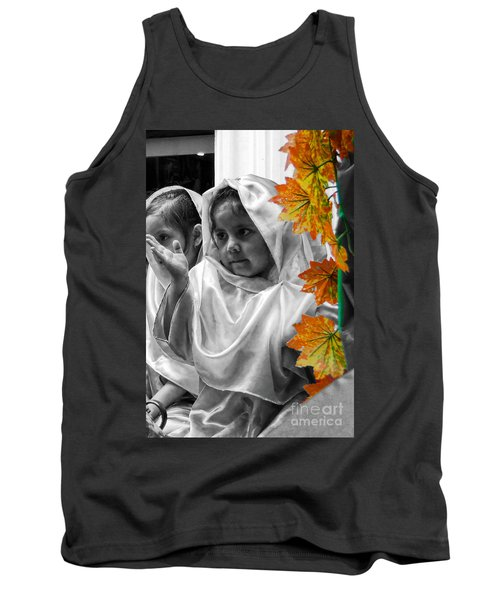 Tank Top featuring the photograph Cuenca Kids 885 by Al Bourassa