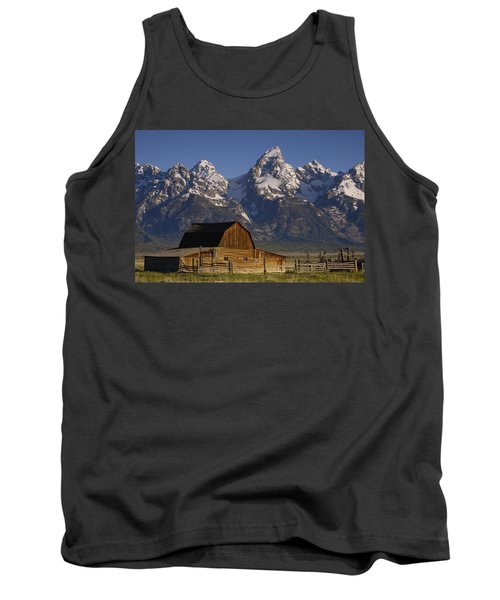Cunningham Cabin In Front Of Grand Tank Top