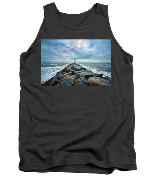 Cupsogue Clouds At Dusk Tank Top