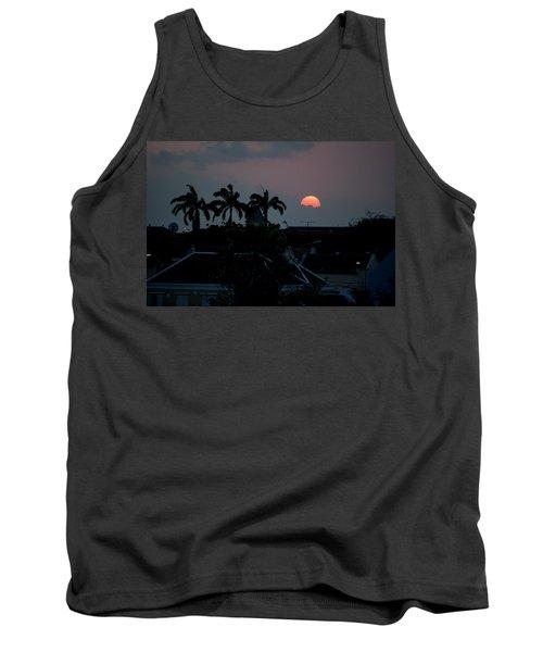 Curacao Sun Rise Tank Top by Allen Carroll