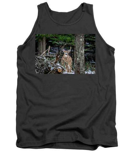 Curious Buck Tank Top