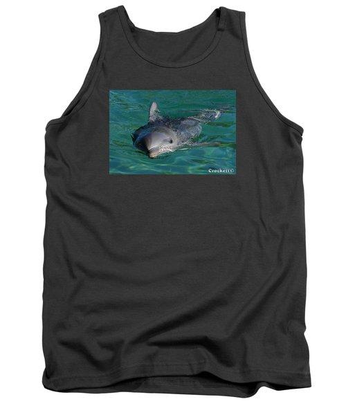 Curious Dolphin Tank Top