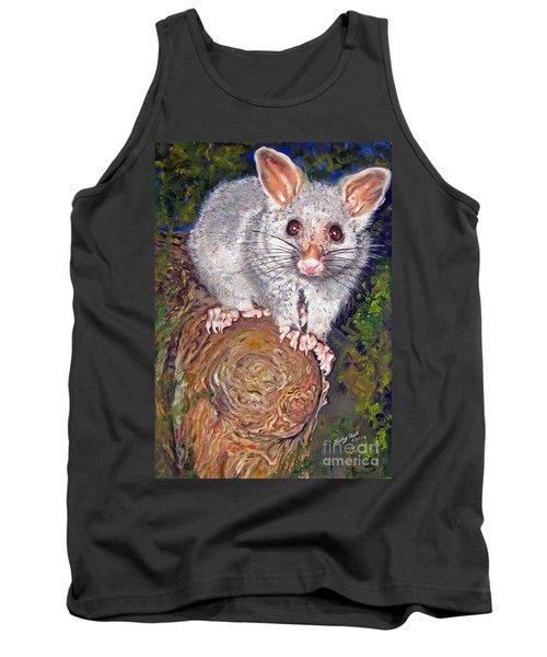 Curious Possum  Tank Top