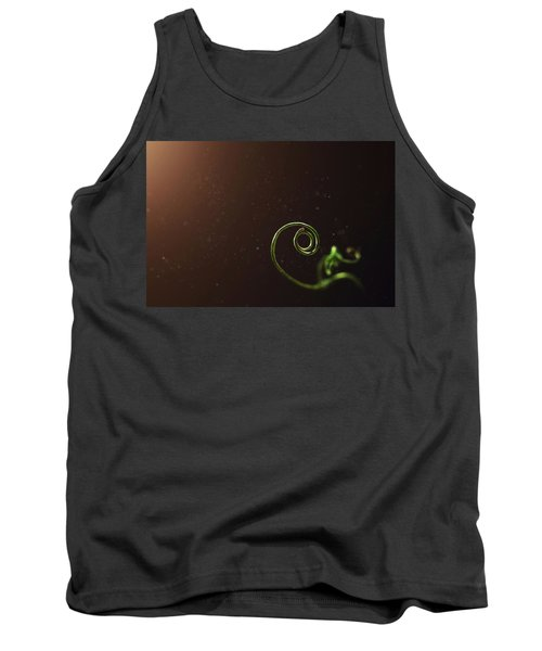 Curl - A Pea Pod Shoot Tank Top