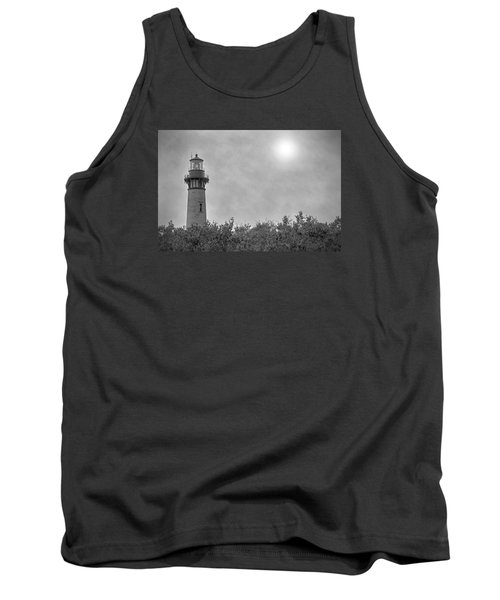 Currituck Lighthouse Tank Top by Marion Johnson