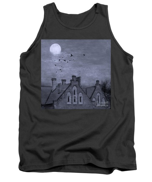 Tank Top featuring the photograph Curse Of Manor House by Juli Scalzi