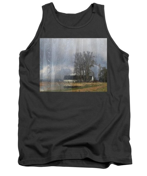 Curtains Of The Mind Tank Top