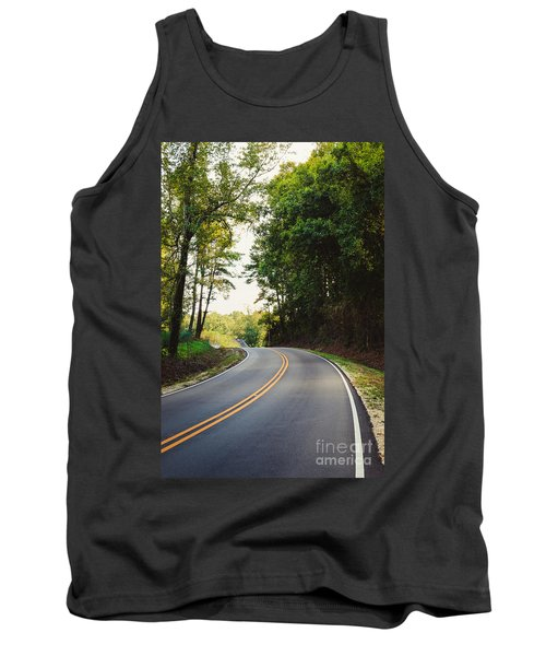 Curvy Road Tank Top