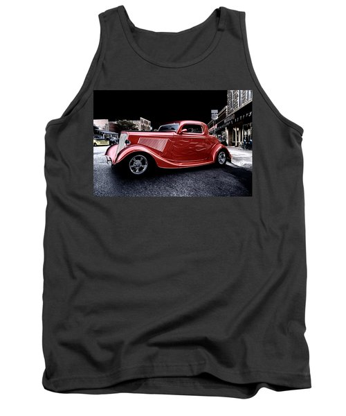 Custom Car On Street Tank Top