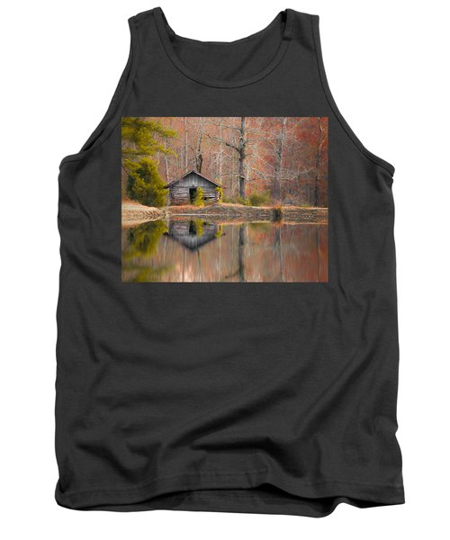 Custom Crop - Cabin By The Lake Tank Top by Shelby  Young