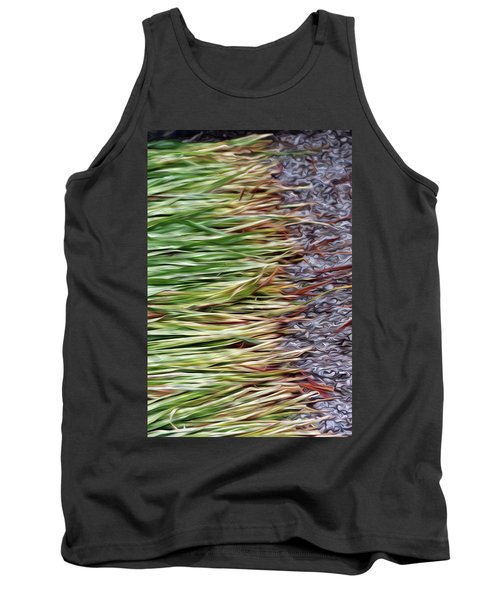 Cut Grass And Pebbles Tank Top