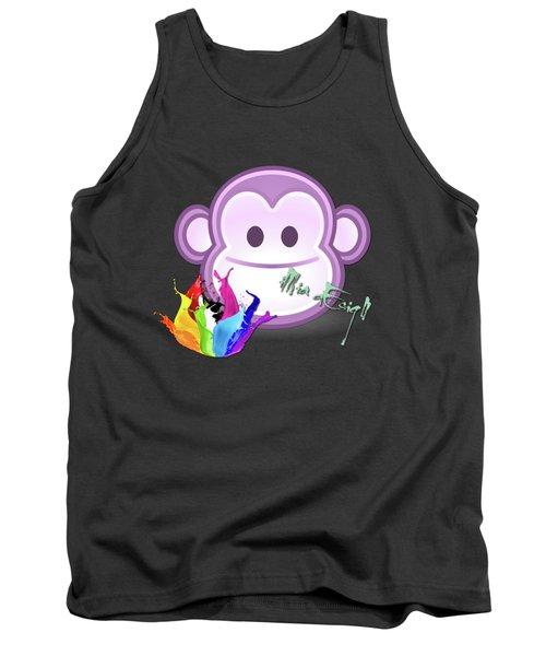 Cute Gorilla Baby Tank Top by iMia dEsigN