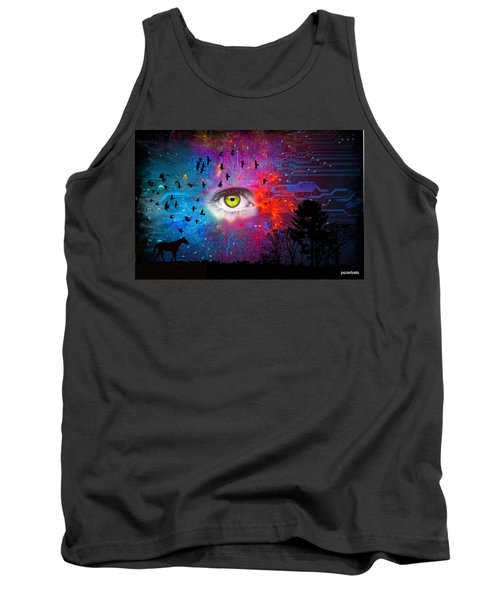 Cyber Nature Tank Top