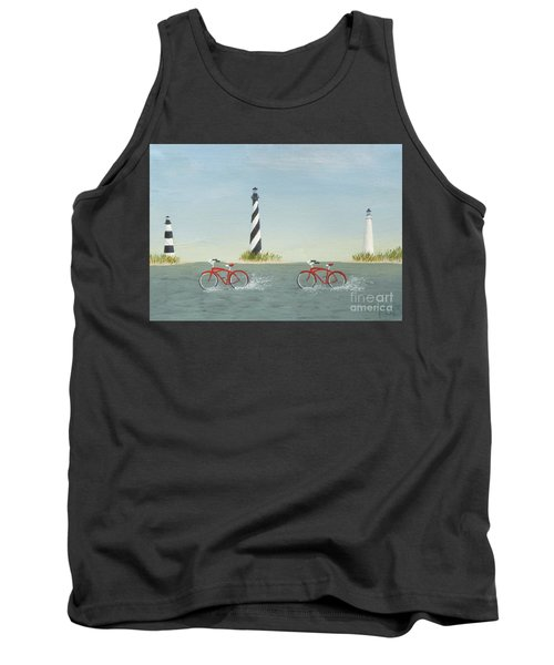 Cycling The Pamlico Sound Tank Top