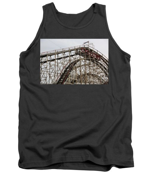 Cyclone Roller Coaster Coney Island Ny Tank Top