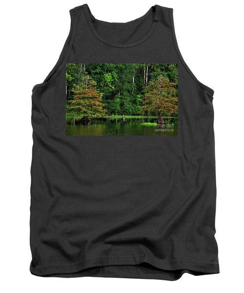 Cypress Frame Tank Top