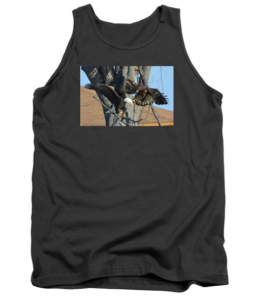 Tank Top featuring the photograph Dad And Junior With Fish by Coby Cooper