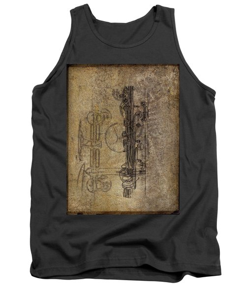 Dads Clarinet Tank Top