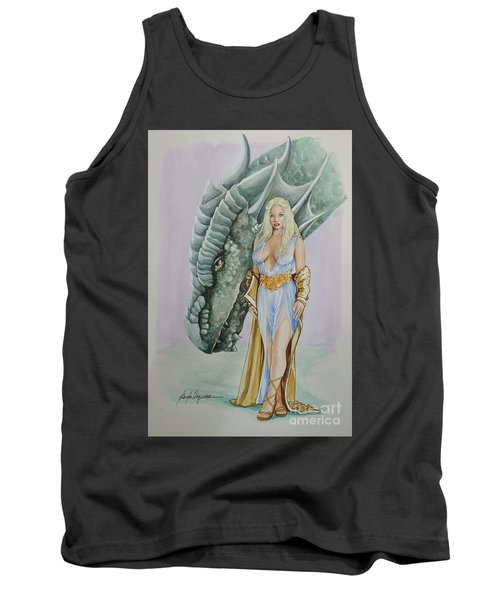 Daenerys Targaryen - Game Of Thrones Tank Top