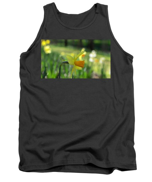 Daffodil Side Profile Tank Top