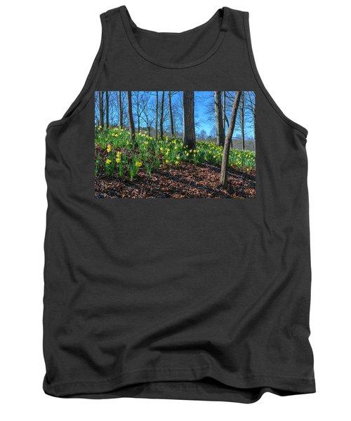 Daffodils On Hillside Tank Top