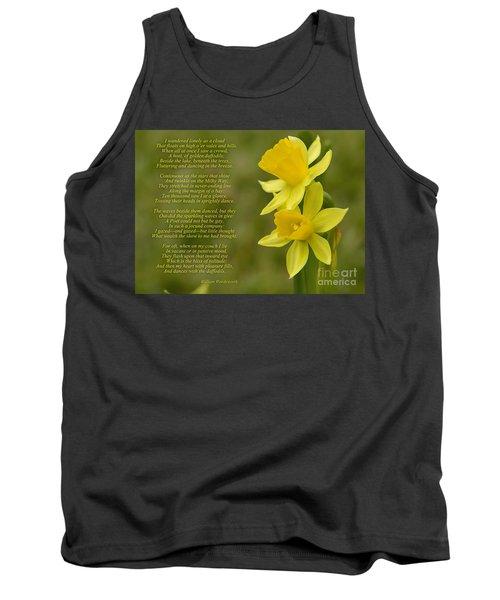 Daffodils Poem By William Wordsworth Tank Top