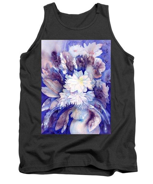 Dahlias Flower Bouquet Tank Top