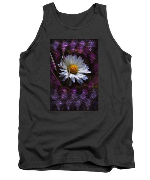 Tank Top featuring the photograph Dainty Daisy by Adria Trail