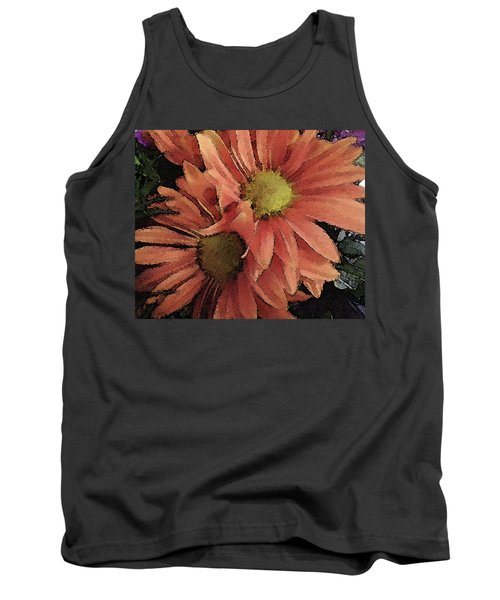 Tank Top featuring the photograph Daisy Bouquet by Donna G Smith