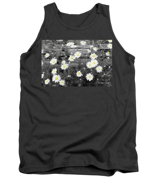 Tank Top featuring the photograph Daisy Patch by Benanne Stiens