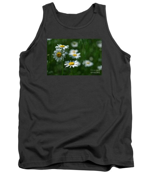Tank Top featuring the photograph Daisy's by Alana Ranney