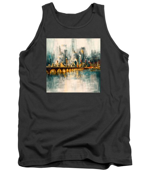 Dallas Skyline 217 3 Tank Top by Mawra Tahreem