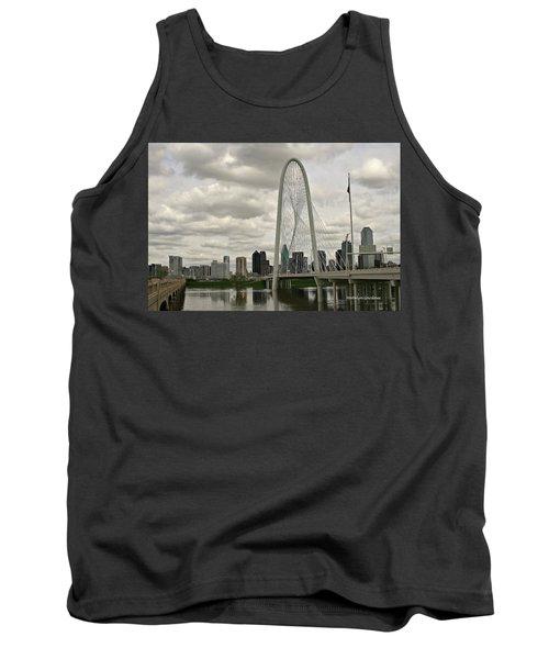 Dallas Suspension Bridge Tank Top