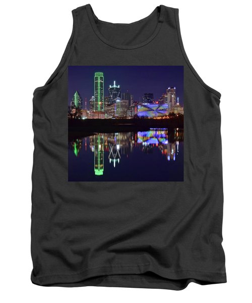 Tank Top featuring the photograph Dallas Texas Squared by Frozen in Time Fine Art Photography