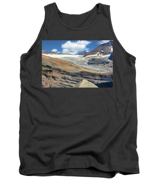 Daly Glacier And Yoho National Park Adventure Tank Top
