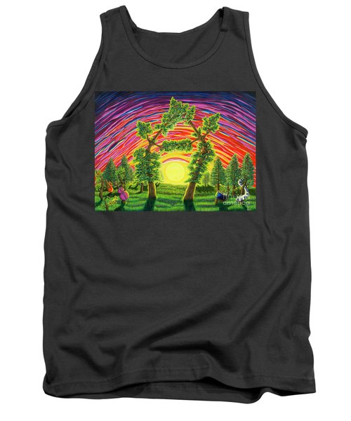 Dance Of Sunset Tank Top