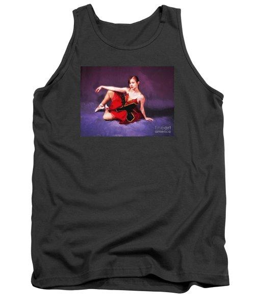 Dancer No. 6  ... Tank Top by Chuck Caramella