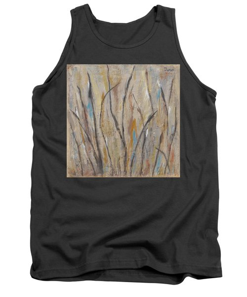 Dancing Cattails I Tank Top by Trish Toro