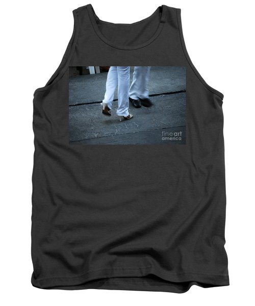 Dancing Feet At The Dominican Republic Son Party Number One Tank Top by Heather Kirk
