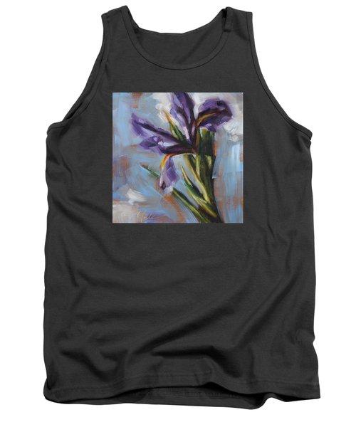 Dancing Iris Tank Top by Tracy Male