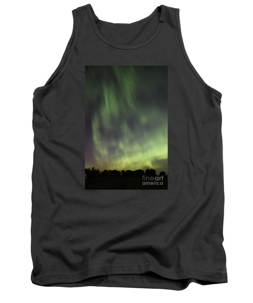 Tank Top featuring the photograph Dancing With The Dipper by Larry Ricker