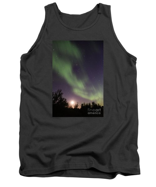 Tank Top featuring the photograph Dancing With The Moon by Larry Ricker