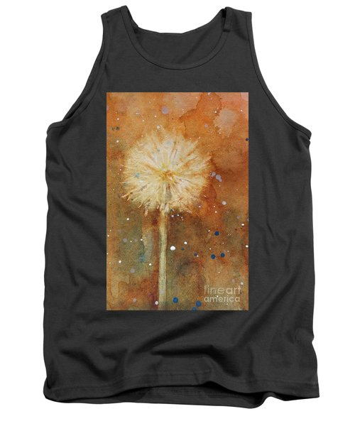 Dandelion Clock 1 Tank Top