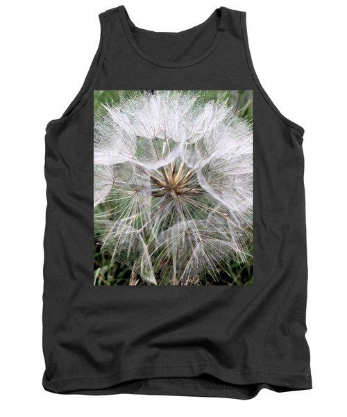 Dandelion Seed Head  Tank Top by Kathy Spall