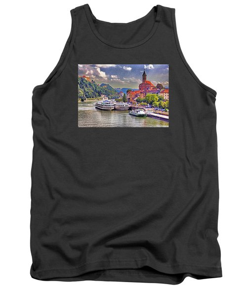Danube At Passau Tank Top